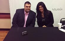 Nicholas Cascio With Teresa Giudice From New Jersey Housewives.